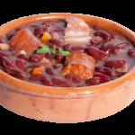 Cocido de alubias rojas